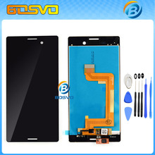 LCD Display Touch Screen with Digitizer Assembly For Sony for Xperia M4 Aqua E2303 E2353 E2333 free Tools Free shipping