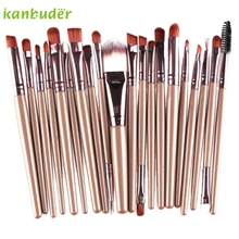 KANBUDER FeatheringWomen 20pcs/Set Soft Makeup Brush Sets Kits Eye Shadow Foundation Make-up Brushes Supplier P25
