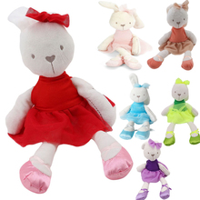 6 Colors Cute Large Soft Stuffed Animal Bunny Rabbit Toy Baby Kids Girl gifts(China)