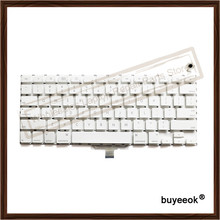 A1181 US Keyboard For Apple Macbook A1181 A1185 US Keyboard White Black Color(China)