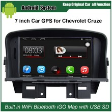Upgraded Original Car Radio Player Suit to Chevrolet Cruze Car Video Player Built in WiFi GPS Navigation Bluetooth(China)