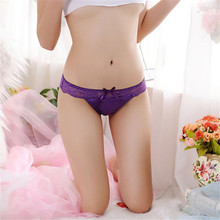 Buy Floral Lace Bragas Thongs G String Panties Women Underwear Briefs Cotton Bragas Sexy Lingerie Soft Briefs Underwear