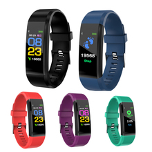 Buy ID115 Plus Smart Band Blood Pressure Heart Rate Monitor Fitness Tracker Bluetooth smart bracelet Sport Wristband PK mi band 3 for $16.50 in AliExpress store
