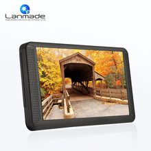 Lanmade 7inch HD plastic shell indoor multimedia Auto play standard lcd media player video shelf advertising products