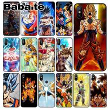 Мягкий чехол для телефона Babaite Dragon Ball Z Goku на заказ для Xiaomi Mi Note 3 6 8 8SE MIX 2 2S Redmi 5 Plus Note 5(Китай)