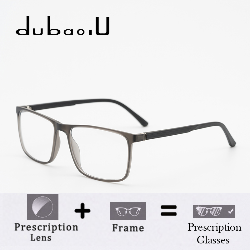 TR90 Men Prescription Glasses Diopter myopia For Sight Transition Reading Vintage Spectacle Computer Optical Frame #MZ18-23