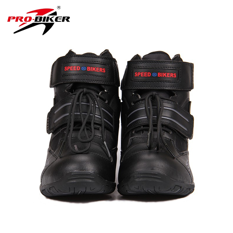PRO-BIKER Speed Bikers Motocycle Motocross Boots Off-Road Motobiker Racing Boots Moto Riding Shoes Motocicleta Botas Black A005<br><br>Aliexpress