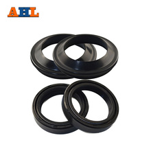 AHL 48* 58* 10 Motorcycle Parts Front Fork Dust and Oil Seal For KTM For Yamaha For Kawasaki Damper Shock Absorber(China)
