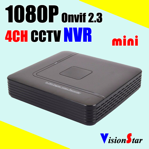 Russian market hot sale Mini NVR 4ch H.264 1080P real time economic surveillance video system P2P Mobile view network DVR<br>