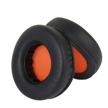 New Replacement Earpads Ear Pads Cushions for Razer Kraken Pro Gaming Headphones Earphones, elastic sponge and PU leather Black