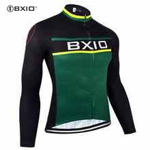 Bxio Cheap Cycling Jerseys Only China Top Sale Bicycle Clothes Roupas De Ciclismo Equipe De France Long Sleeve Cycle Jersey 092J(China)