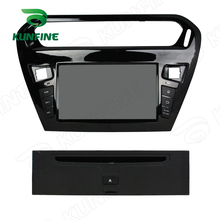 Quad Core 1024*600 Android 5.1 Car DVD GPS Navigation Player Car Stereo for Peugeot 301 13-14 Radio 3G Wifi Bluetooth(China)