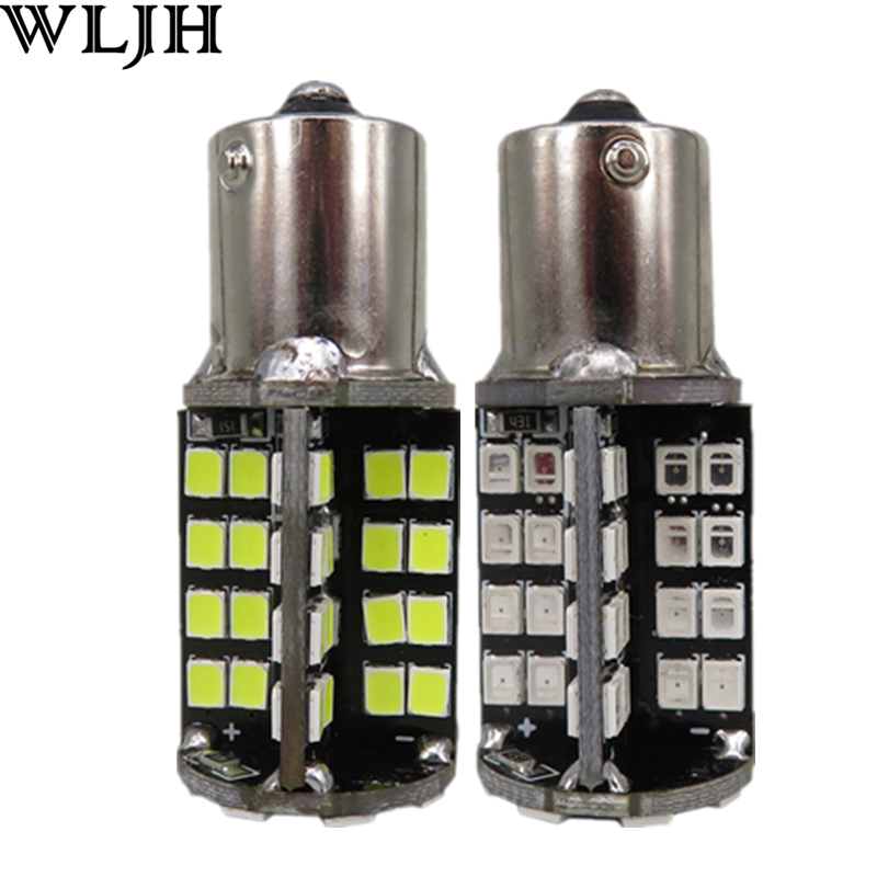 2x Canbus P21W Car LED Light 1156 BA15S 12v 79 Led 2835 SMD Reverse Lamp Backup Bulb for Saab 9-3 9-5 2002 2003 2004 2005<br><br>Aliexpress