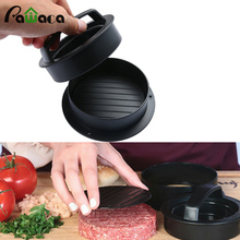 Cooking Tools Silicone Hamburger Presses Stuffed Burger Press Kit Non-Stick Patty meat Molds easy clean Kitchen Bar Supplies(China)