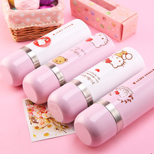 Hello Kitty Stainless Steel Double Wall Vacuum Flask Coffee Mug Travel Tumbler Water Bottle Insulated Thermos Gift Lovers kids