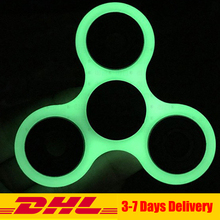 Buy 50 PCS DHL Wholesale Hand Spinner Glow Dark Luminous Fingertip gyroscope Fidget Spinner Autism ADHD Fidget Toys Gifts for $69.00 in AliExpress store