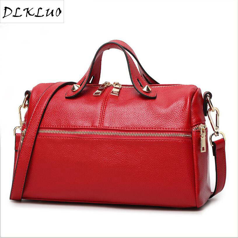 2017 the new spring and summer Korean leisure bags leather pillow bag shoulder bag lady factory direct<br>
