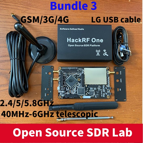 HackRF One SDR Software Defined Radio 1MHz to 6GHz Mainboard Development board kit title=
