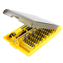 45 in 1 Precision Screwdriver Set Disassemble For Tablets Phone Computer Laptop PC Watch Mini Electronic Repair Tools Kit(China)