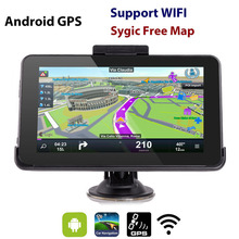 Eroad E16 HD 7 inch Android Car GPS Navigation 16GB WiFi Tablet PC Navigator North/South American 2017 Europe AU Maps