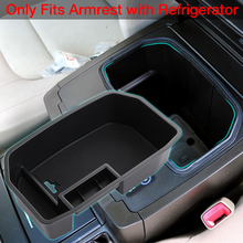 Non-Slip Mat In Central Armrest Container Holder Stowing Box For Toyota Land Cruiser 200 FJ 200 Accessories 2004-2016