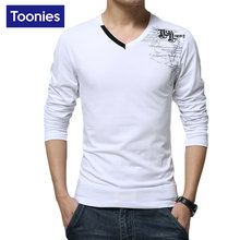 Hot Sale Men's T-shirts Pullover Long Sleeve Man's T-shirt Slim Fit Mens T Shirts Fitness Vetement Homme Plus Size Mans Tops Tee