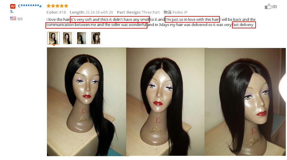 straight hair bundles 4