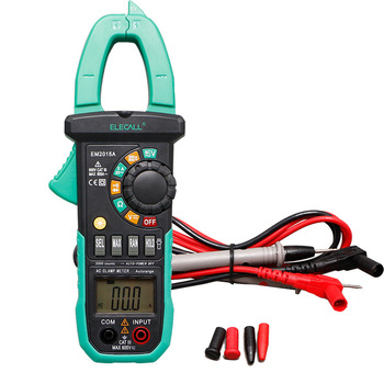26mm Jaw Capacity Easy To Separate The Wire NCV Digital Clamp Meter With Torch Diode Resistance Measurement EM2015A<br><br>Aliexpress