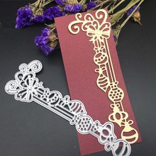 diy paper album card embossing scrapbook dies cutting knife mold thin metal photo card making tools