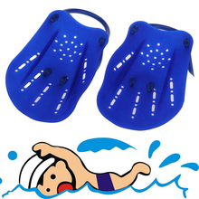 1pair Adult Kids Swimming Webbed Diving Gloves Swimming Paddle Fins Utility Paired Swim Training Glove Release Hand Strength(China)