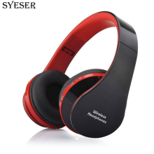 SYESER NX-8252 Bluetooth Stereo Wireless Headphone Foldable Headset Wired Earphone with microphone For Huawei xiaomi phone PC TV