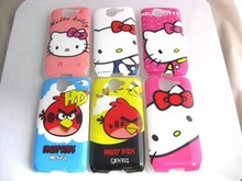 Cartoon Hello Kitty Bird Hard Plastic Case for HTC Desire Bravo G7 Mobile Cell Phone Cases Back Cover