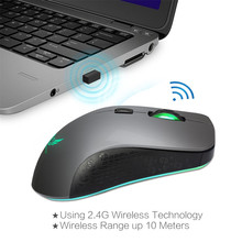 Malloom Silence 2.4Ghz Mini Wireless Optical Gaming Mouse Mice& USB Receiver For PC Laptop,six buttons,seven colors Hot Sell