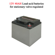12V 40AH Lead Acid Battery Connect Solar Panel Solar Power System Refrigerator Freezer