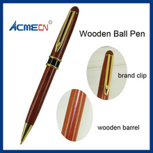 ACMECN Hot Sale Cool Design Writing Stationery MB style Famous Brand Ball pens Popular Eco-friendly Rosewood Ballpoint Pen