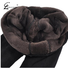 CHLEISURE Winter Warm Leggings Women High Waist Thick Velvet Legging Fashion Solid Large Size Autumn Leggings S-XL 8 Colors(China)