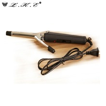 LKE Hair Curling Wand Curling Irons Electronic Wand Curler Crimper Styling Tools Hairstyles Products Items Accessories Supplies(China)
