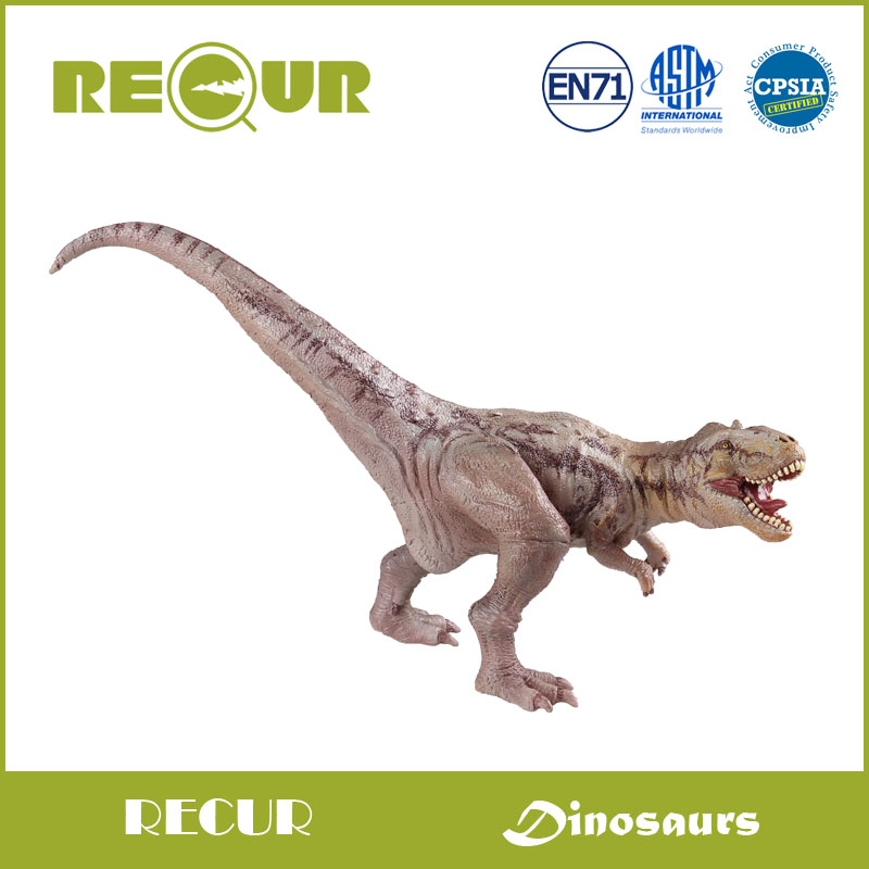 Recur Majungasaurus Dinosaur toy animal model Hand Painted High Detail Action Figures PVC+ PP Cotton Soft Toy Xmas Gift For Kids<br>