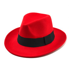 1cea158aa2e Kenancy Classic Women S Wool Felt Hat Gangsters Traditional Godfather Mafia  Cap Female Fashion Casual Hat Autumn Fedora Hats