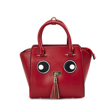 The New Trend of The Car Stitch Stay Meng Cartoon Eyes Ladies Shoulder Bag with More Bags Hot Sale(China)