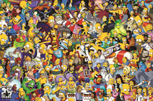 THE SIMPSONS Cartoon Film Silk Poster Print 12x18 24x36 inch(China)
