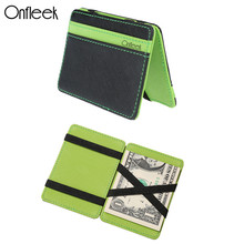 Onfleek New South Korea Styles Magic Wallet Men's Wallet Magic Money Clips Men Purse Fashion Originality Wallet Card Case 999