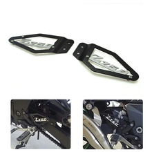 Z750 Motorcycle Foot Peg Heel Plates Guard Protector for Kawasaki Z 750 2007 2008 2009 Motorbike Accessories