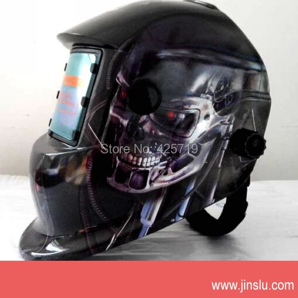 Skull welding mask welding mask for tig/arc/mig auto darkening welding helmet<br><br>Aliexpress