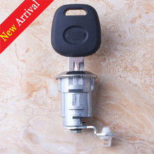 Wholesale 100% Brand New Auto Car Tail Box Trunk Key Lock Cylinder Car Anti-theft Lock Cylinder with Key for ChevroletEpica(China)