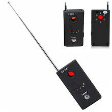 New Wireless Radio Wave Signal RF Camera GSM Device Audio Bug Finder GPS Signal Laser Lens RF Tracker Anti Spy Detector GDeals(China)