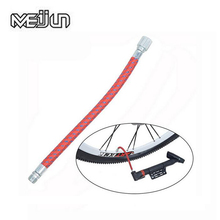 2pcs MEIJUN 16.5cm MTB Mountain Bikes Road Folding Bicycles Pump Hose Schrader Valve Durable Air Pump Inflator Parts(China)