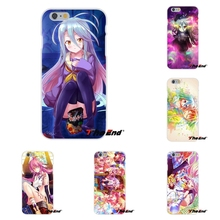 For Xiaomi Redmi 3 3S Pro Mi3 Mi4 Mi4C Mi5S Note 2 4 NO GAME NO LIFE Sexy Anime Girl TPU Slim Back Silicone Case Cover Skin