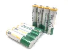 8PCS AAA 1.2V 1350mAh Rechargeable Ni-MH Batteries For Camera control electric toy
