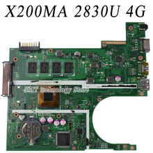 For Asus X200MA F200MA F200M X200M Motherboard X200MA REV2.1 Mainboard With 2830U 4G memory on board fully tested